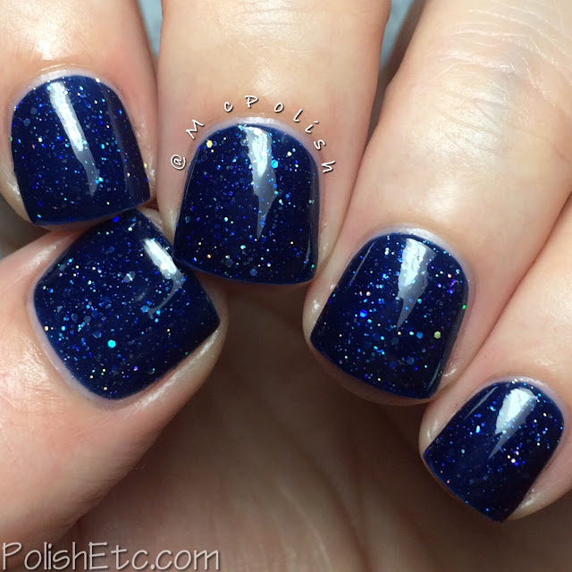 KBShimmer Fall 2015 Collection - Carpe Denim - McPolish