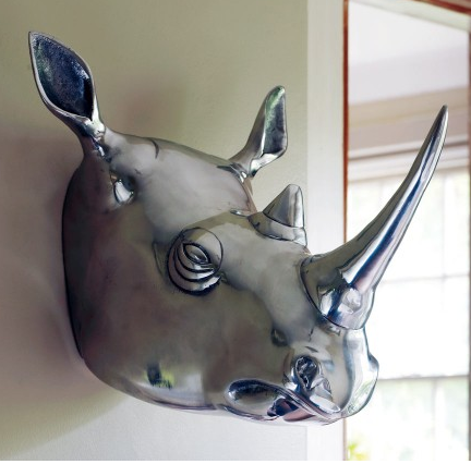 Style design life animal heads as wall decor yesssss for Animal head wall decoration