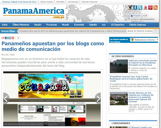 Ecuapana Blog - Panama America