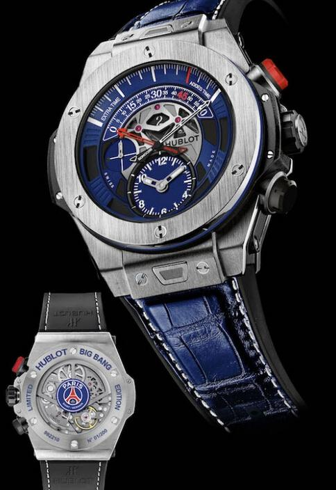 montre replique pas cher prix montre hublot big bang unico bi retrograde paris saint germain. Black Bedroom Furniture Sets. Home Design Ideas