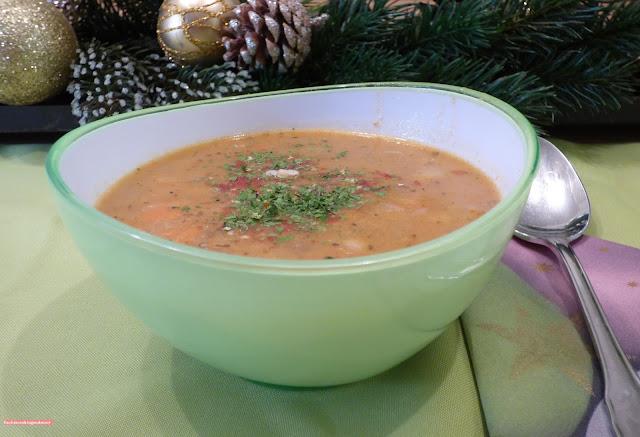 fischiscooking, bohnensuppe