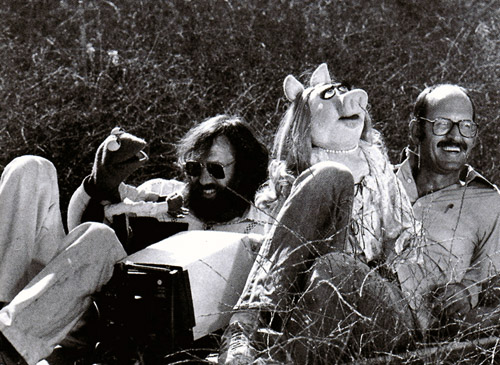 Jim Henson, Frank Oz, Muppets, Kermit the Frog, Miss Piggy