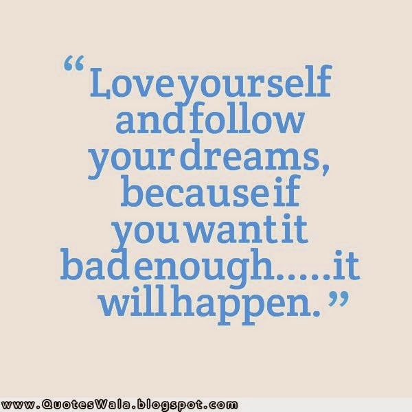 Quotes About Love Yourself : Daily Quotes at QuotesWala