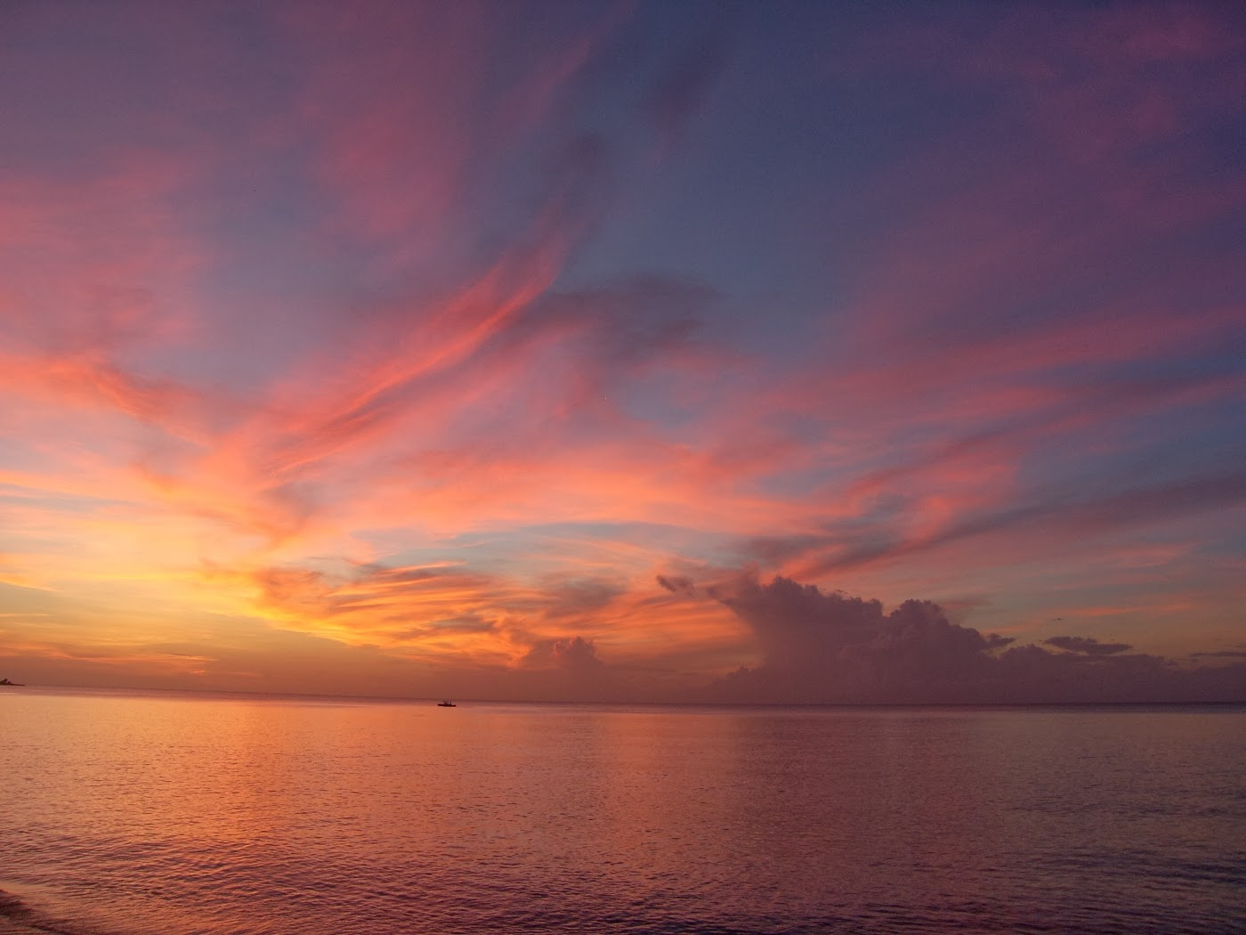 Landscape photography -Sunset at Grange Bay Tobago