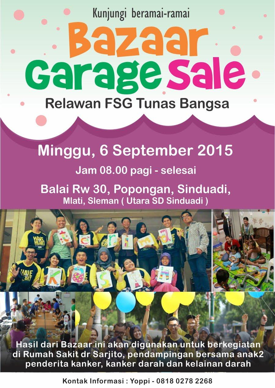 Garage Sale 2015