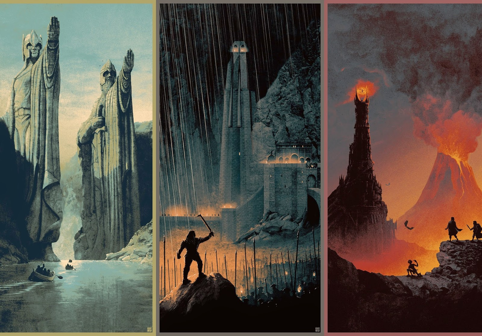 Lord of the Rings Trilogy by Matt Ferguson & Bottleneck Gallery