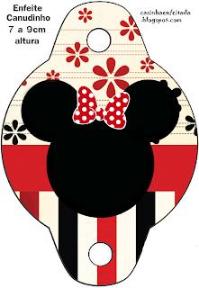 Kit Festa Minnie Vermelha Para Imprimir Grátis
