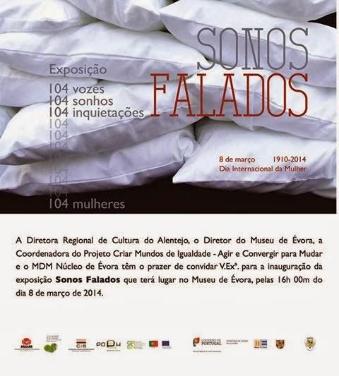 DIA INTERNACIONAL DAS MULHERES | Sonos Falados |Évora