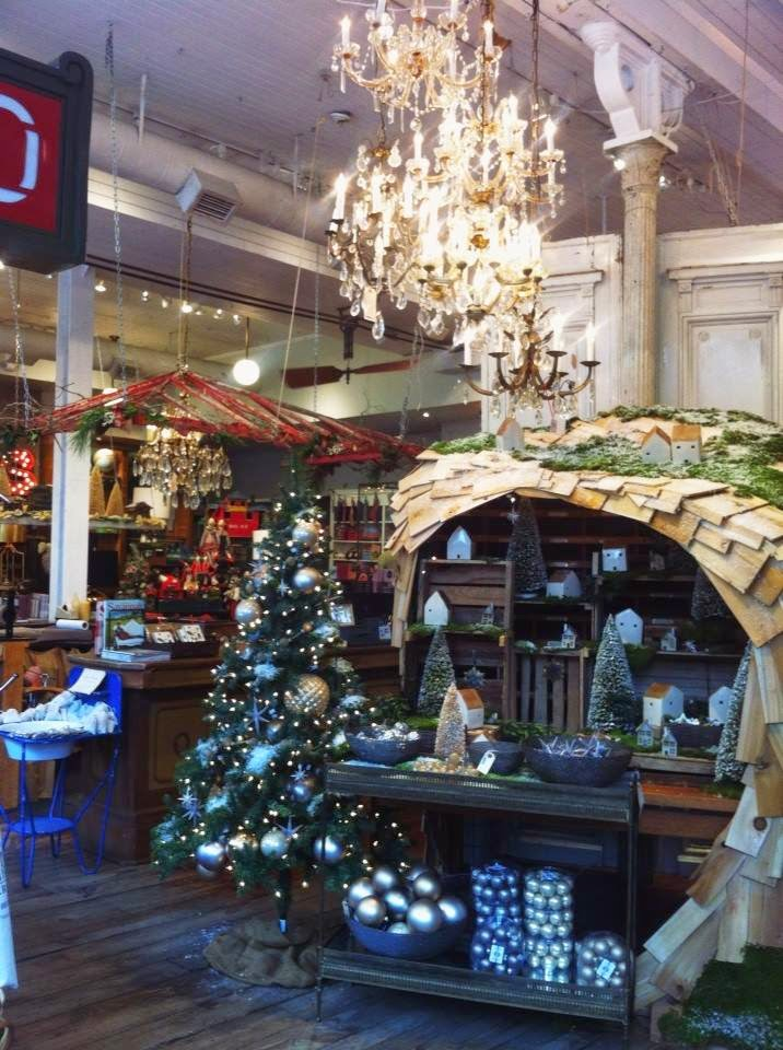 savanna georgia downtown shopping coffee hipster the paris market christmas decorations rustic vintage