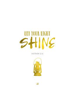LostBumblebee ©2015 : Matthew 5:16 : Bible : Free Printable : Personal use only!