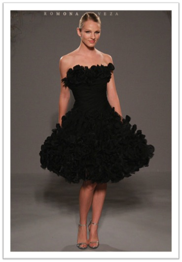 Short Black Weding Dreses 014 - Short Black Weding Dreses