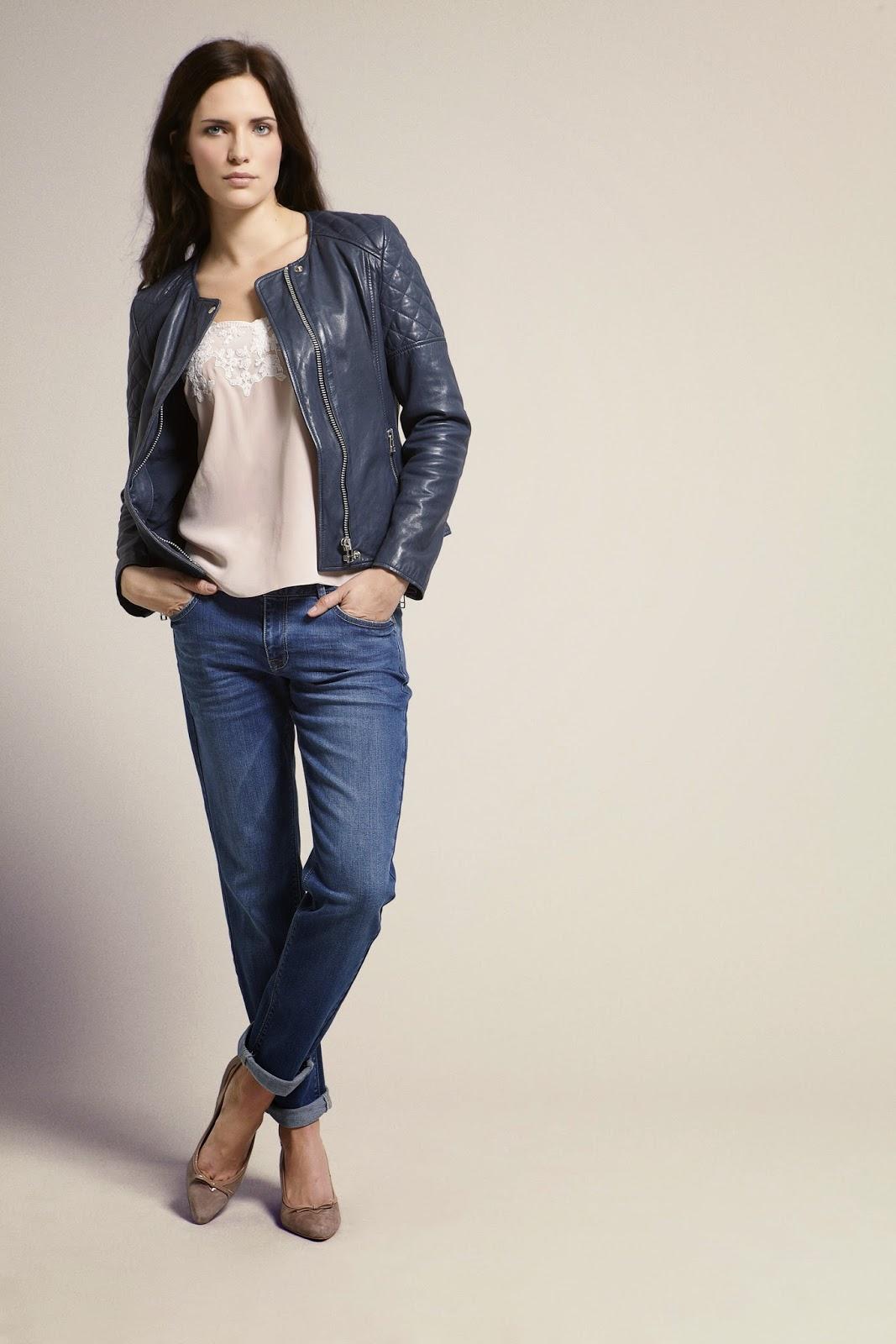 Leather jacket jigsaw - Gap