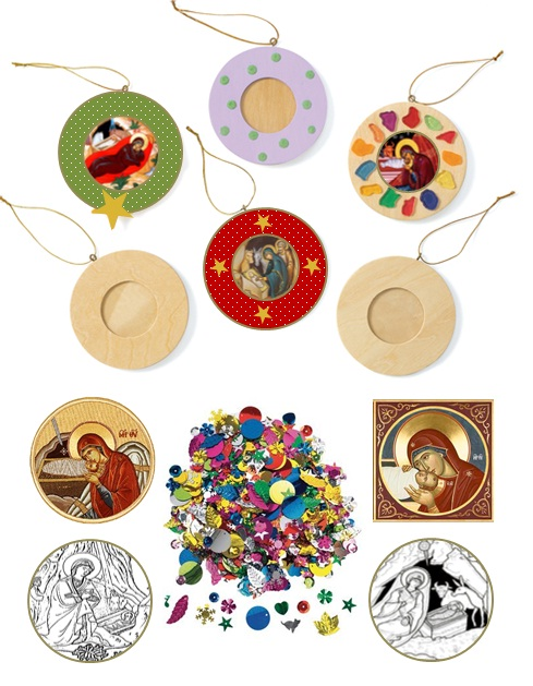 Christian Christmas Craft Ideas Part - 15: Christmas Orthodox Craft Ornaments