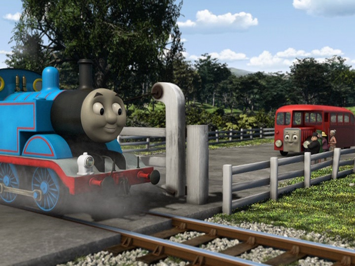 Thomas & Friends: Rescue On The Rails DVD Español Latino Screenshot