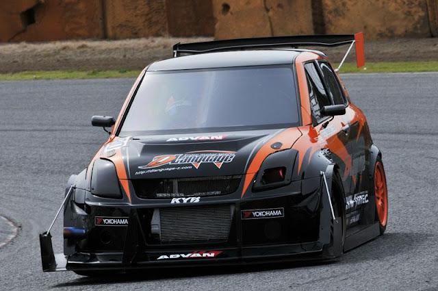 badass, samochody do sportu, wyścigi, japońska motoryzacja, Suzuki Swift Sport, JDM, tuning