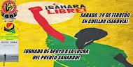 JORNADA EN APOYO A LA LUCHA DEL PUEBLO SAHARAUI DEL 28F.