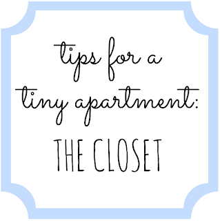 Tips for a Tiny Apartment: The Closet