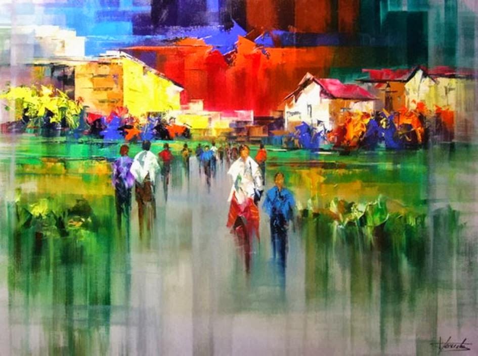 Pejzaži u slikarstvu... - Page 2 Landscape+Paintings+by+Josep+Teixido+%286%29