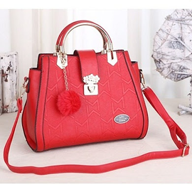 COACH DESIGNER BAG - RED