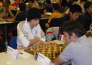 Échecs à Prague - ronde 3 : Jules Moussard (2429) 1-0 Matija Ostovic (2290)- Photo © FFE