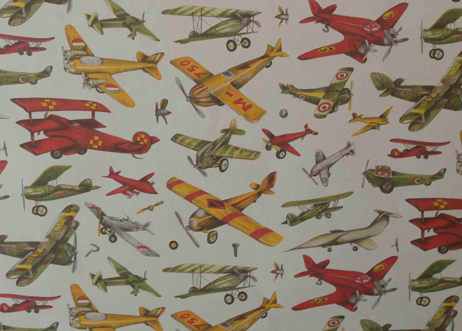 Suitbook, aviones, papel, papier, carte, plane, old