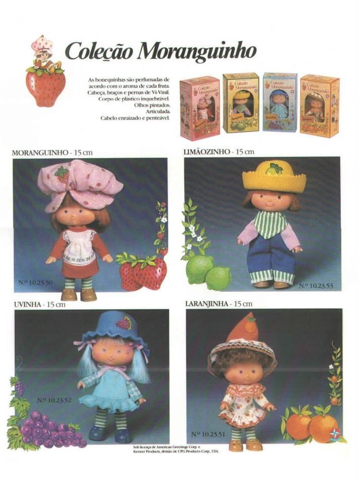 catálogos Boneca Moranguinho Estrela