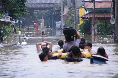 BNPB : Waduk Pluit Tidak Jebol Tetapi Meluap