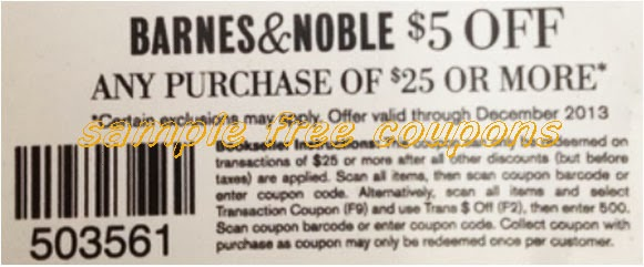 Coupon code barnes and noble december 2018