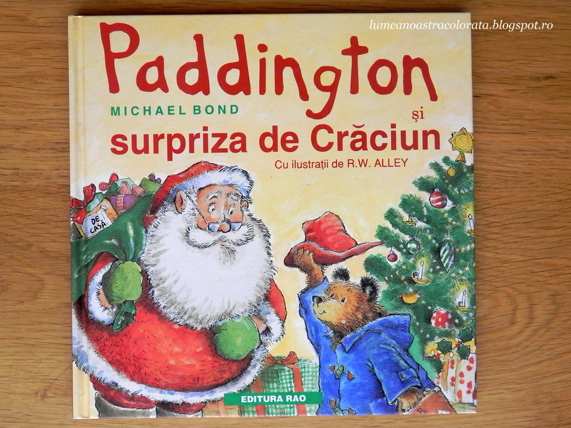Paddington și surpriza de Crăciun editura Rao