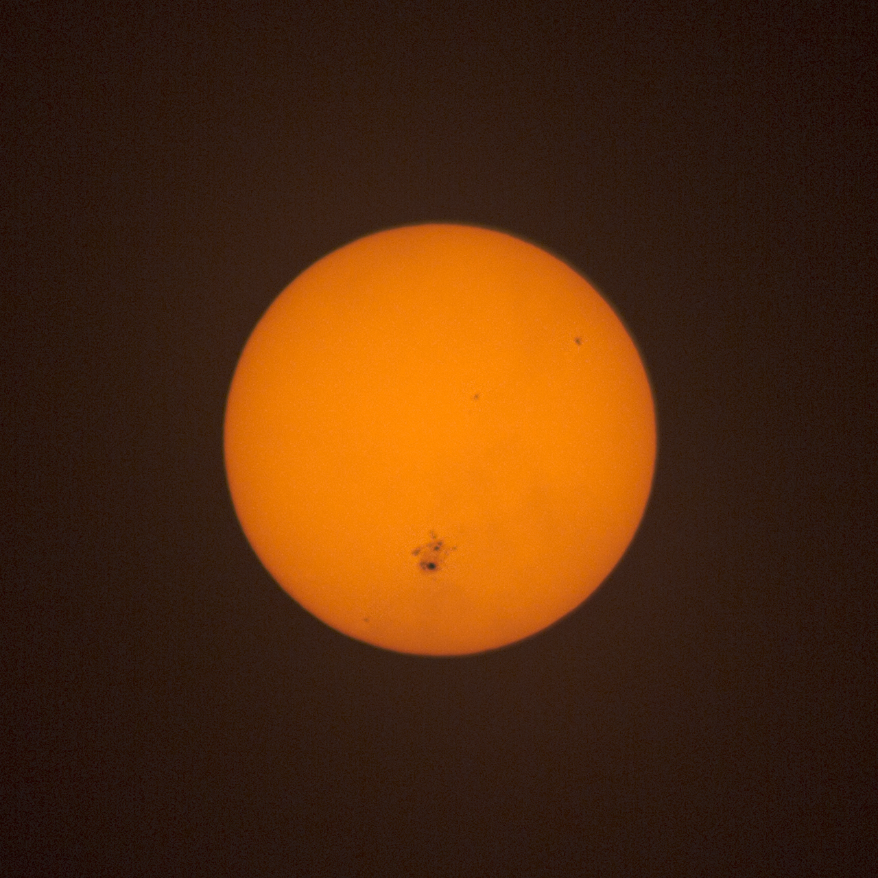 sunspot october 21