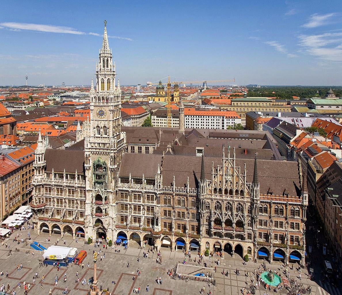 Marienplatz. Las plazas mas bonitas de Europa