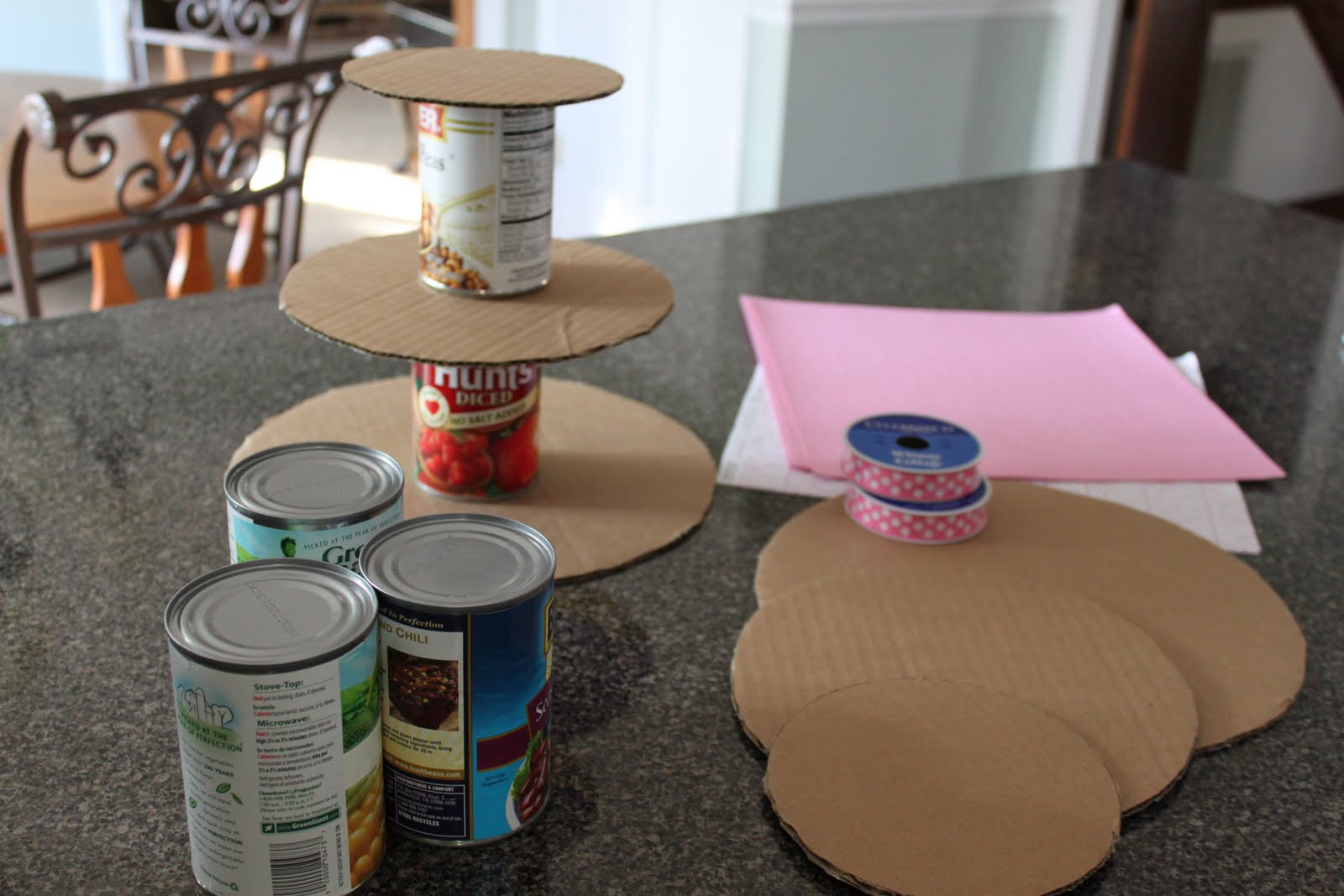 Create studio cupcake stand tutorial for How to make a cake stand