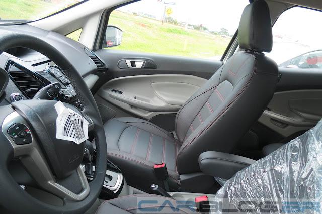 Nova Ford EcoSport Titanium Automatica 2014 - bancos em couro