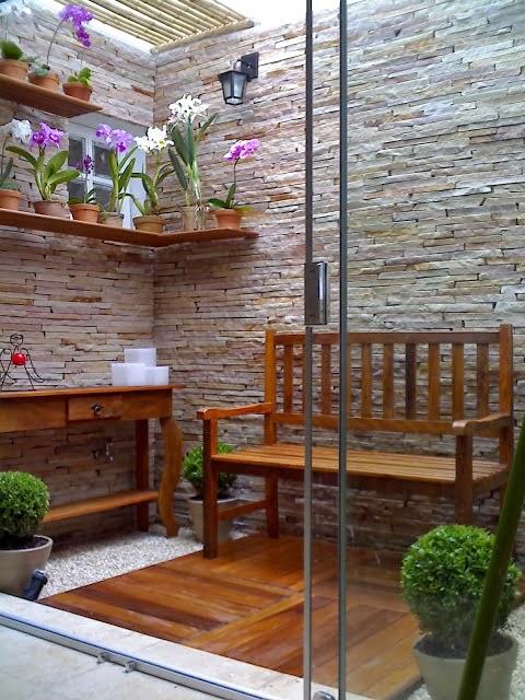 deck para jardim vertical : blog de decora??o - Arquitrecos: Jardins de Inverno ...