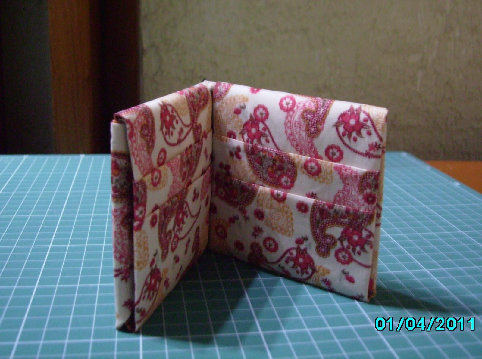 Bolsa Em Origami De Tecido : Valen patch passo a carteira de origami