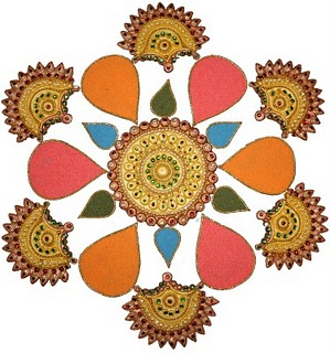 These Rangoli images are not only for Sankranti festival. Indian women ...
