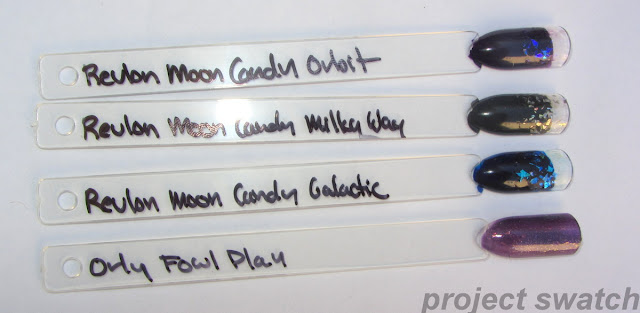 revlon moon candy flakies swatches