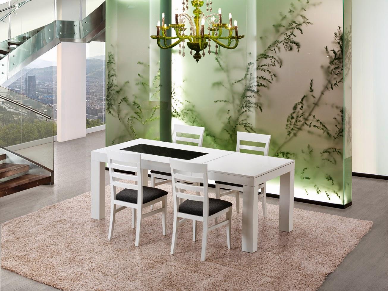 Llar del modul mesas sillas comedor cocina y centro - Mesa del comedor ...