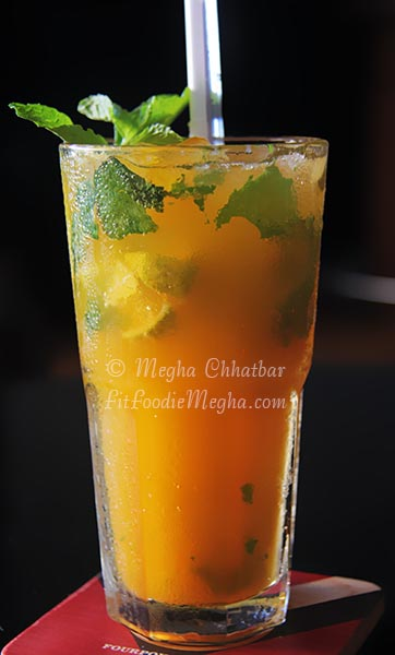 spicy and was presented with Spicy Mango mocktail–a special mocktail ...