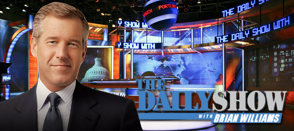 Brian Williams to host The Daily Show