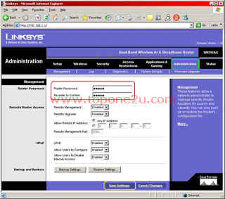 Configure Wireless Router5