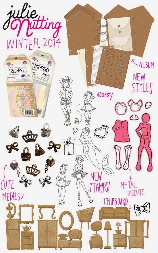 nuevos sellos de Julie Nutting