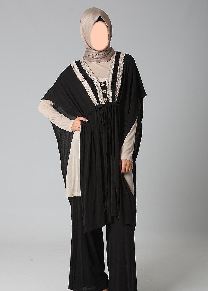 Hijab fashion styles for modern women 2012 islamic clothing Fashion style hijab modern