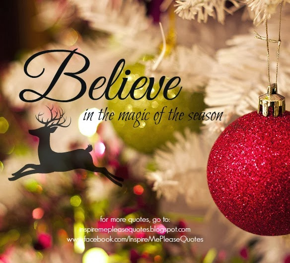 Magic Of Christmas Quotes. QuotesGram