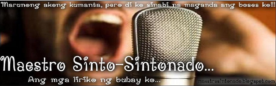 Maestro Sinto-Sintonado