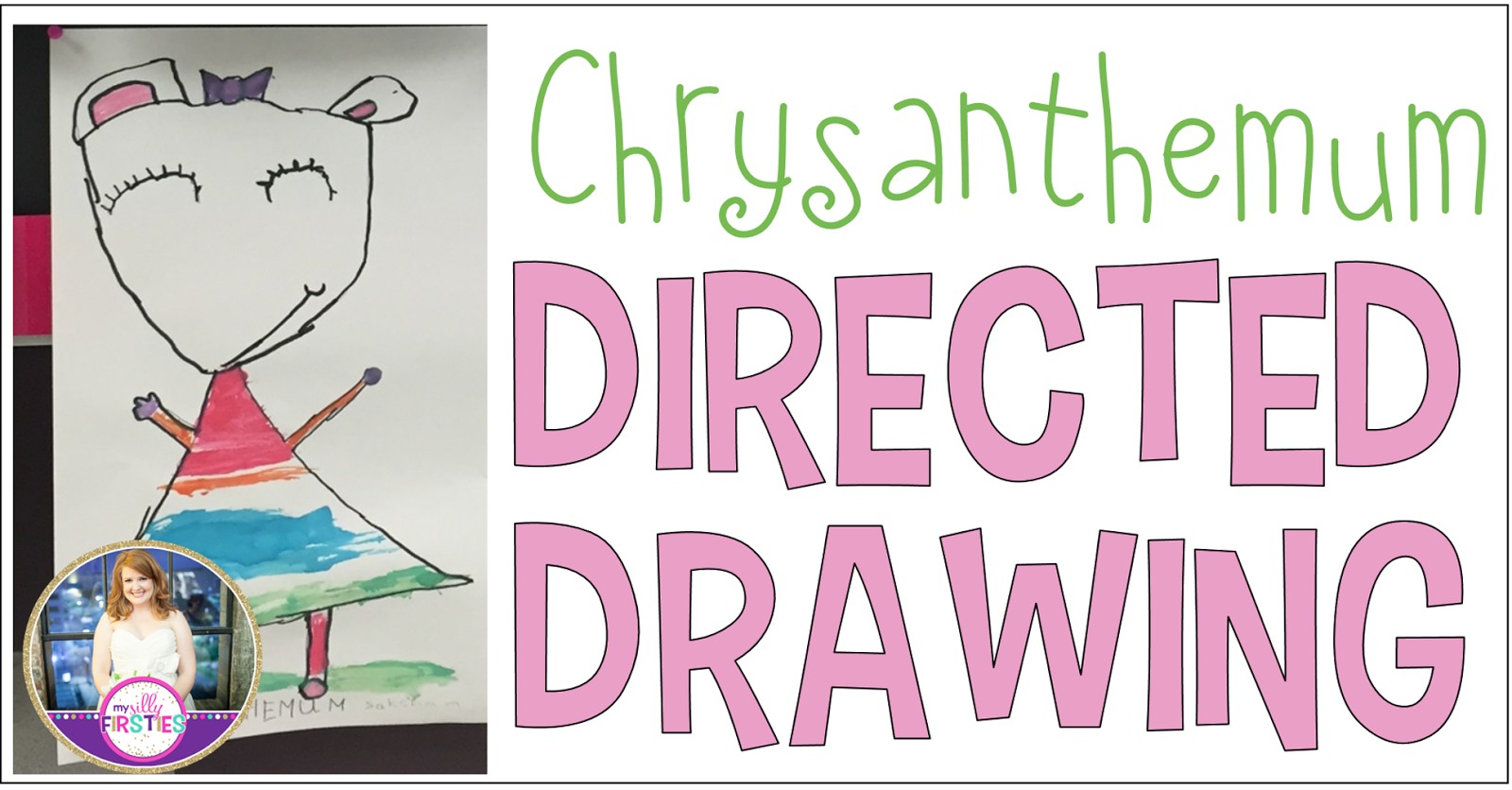 Chrysanthemum Directed Drawing | Teaching With Haley O'Connor
