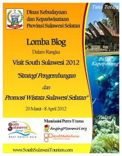 Lomba Blog Promosi Wisata SulSel dunialombaku.blogspot.com