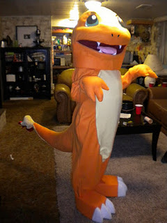 pokemon red charmander cosplay costume mascot