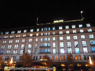 fetival of lights, berlin, illumination, 2012, Brandenburger Tor, hotel adlon