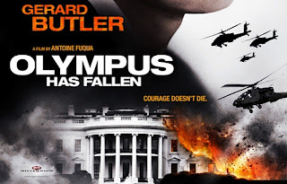 Olympus Has Fallen (2013) Hindi Dubbed Dual DVDScr Download